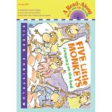 Carry Along Book & CD, Five Little Monkeys Jumping on the Bed