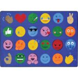 Emoji Expressions™ Rug, 10'9 x 13'2 Rectangle