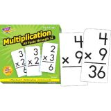 All Facts Flash Cards, Multiplication 0-12