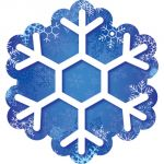 Designer Cut-Outs, Snowflakes, 6
