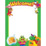 Welcome Playtime Pals™ Learning Chart