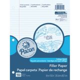Pacon® Filler Paper, College Rule, 9/32 ruling