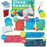 Close Reading Strategies Bulletin Board Set