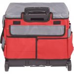 MemoryStor® Rolling Cart & Organizer Bag, Red