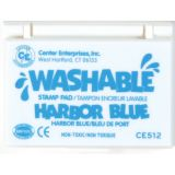 Washable Stamp Pad, Harbor Blue