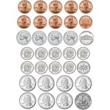 Money Foam Manipulatives, U.S. Coins
