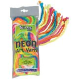 Art Yarn, Fluorescent Colors