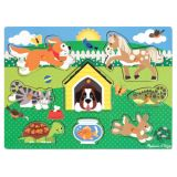 Friendly Pets Peg Puzzle