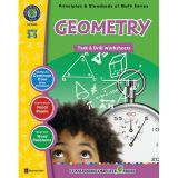 Principles & Standards of Math Task & Drill Worksheets, Geometry, Grades 3-5