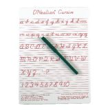 Write-On/Wipe Off Boards, D'Nealian Cursive