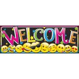 Magnetic Emoji Welcome Banner
