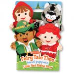 Fairy Tale Time: Little Red Riding Hood Hand Puppets