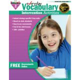 Everyday Intervention Activities for Vocabulary, Grade 2