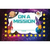 On a Mission Incentive Punch Cards