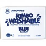 Jumbo Washable Stamp Pad, Blue