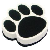 Magnetic Whiteboard Erasers, Black Paw