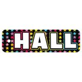 Plastic Hall Pass, Neon Black Hall Pass
