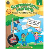 Summertime Learning, Grade 1