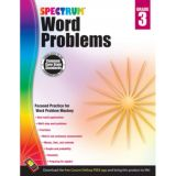 Spectrum® Word Problems, Grade 3