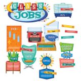 Mid-Century Mod Class Jobs Mini Bulletin Board Set