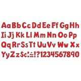 Playful Solids 4 Uppercase/Lowercase Ready Letters® Combo Pack, Red