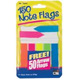 Note Flags, Pack of 30 in 5 colors