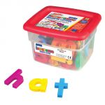 Jumbo Multi-Colored AlphaMagnets, Lowercase