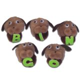 5-Character Monkey Mitt® Set, Bingo Dogs