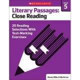 Literary Passages: Close Reading, Grade 5