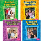 My Family Book Set, Set of 4