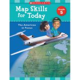 Map Skills for Today: The Americas in Focus, Grade 5