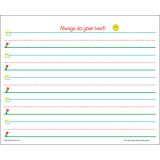 Smart Start Handwriting Series, Writing Paper, Grades K-1, 360 sheets