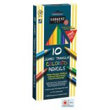 Sargent Art® Easy Grip Triangle Colored Pencils