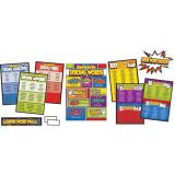 Super Power! Super Word Choices Bulletin Board Set