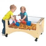 Toddler See-Thru Sensory Table