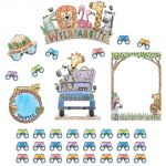 Safari Friends Wild About... Bulletin Board Set