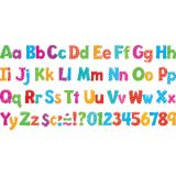 4 Playful Uppercase/Lowercase Ready Letters® Combo Pack, Colorful Patterns