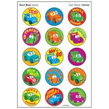 Car-Toons Stinky Stickers®, Large Round