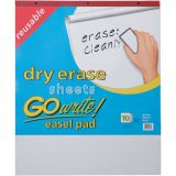 GoWrite!® Reusable Dry Erase Easel Pad