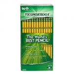 Original Ticonderoga® Pencils, Unsharpened, Box of 96