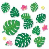 Palm Paradise Monstera Leaves Bulletin Board Set