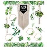 Simply Boho Home Sweet Classroom Bulletin Board Set