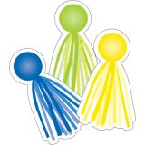 Schoolgirl Style™ Hello Sunshine Tassels Colorful Cut-Outs®