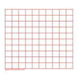Graphing 3M Post It® Notes-10 x 10 Grid