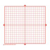 Graphing 3M Post-it® Notes, X Y Axis- 20 x 20 Square Grid