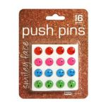 Fancy Push Pins, Smiley Face
