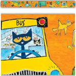Pete the Cat® School is Cool Spotlight Border