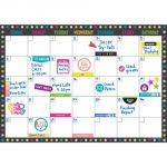 Clingy Thingies® Calendar Set, Chalkboard Brights