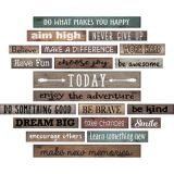 Clingy Thingies® Motivational Gallery Signs, Home Sweet Classroom