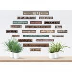 Clingy Thingies® Home Sweet Classroom Motivational Gallery Signs